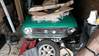 Mini 1275GT Corrosion.