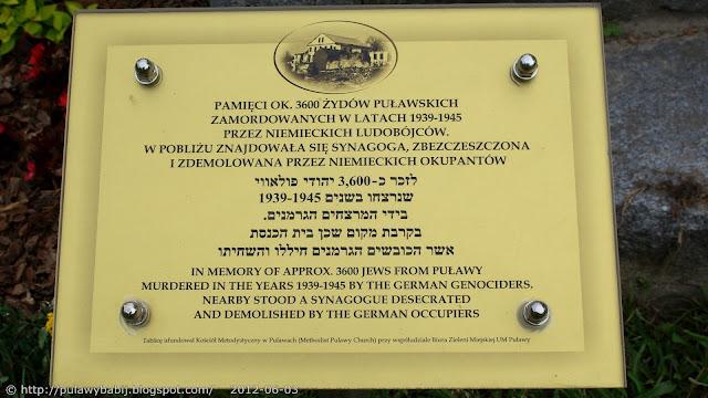 Puławy Pomnik Pamięci Ofiar Hitlerowskiego Terroru
