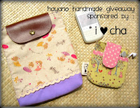 Giveaway Sponsore by ILoveCha