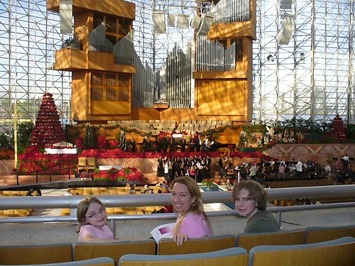 Crystal Cathedral balcony view