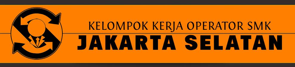 OPERATOR SMK JAKARTA SELATAN