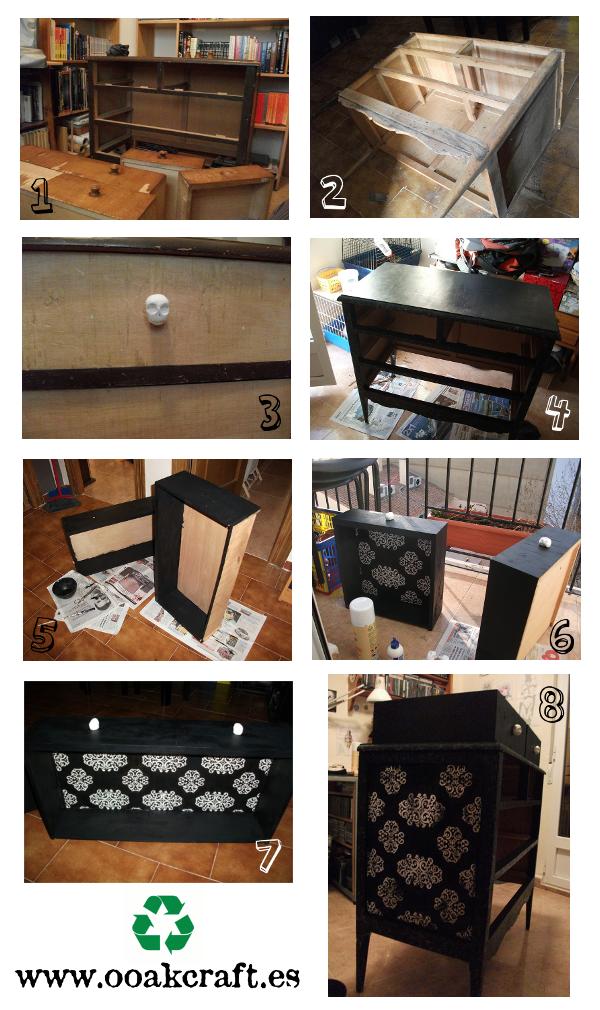 Tutorial reciclaje - Cómo reciclar una cómoda o mueble por el estilo
