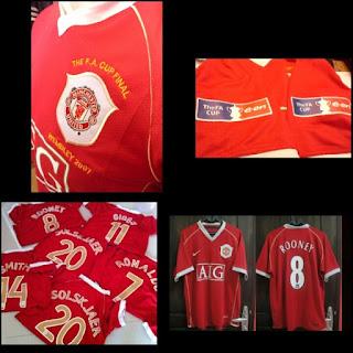 gambar desain terbaru jersey retro mu musim depan Jersey Retro Manchester United Piala FA tahun 2006-07 di enkosa sport toko online jersey retro dan baju klasik