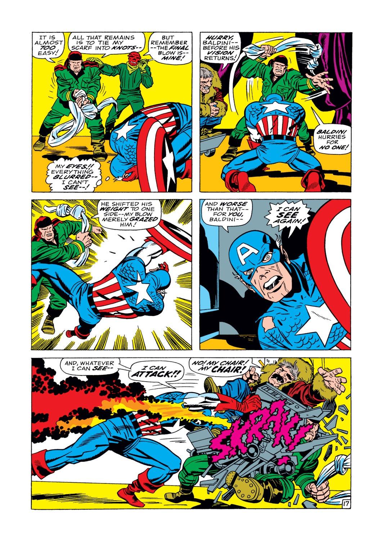 Captain America (1968) Issue #104 #18 - English 18