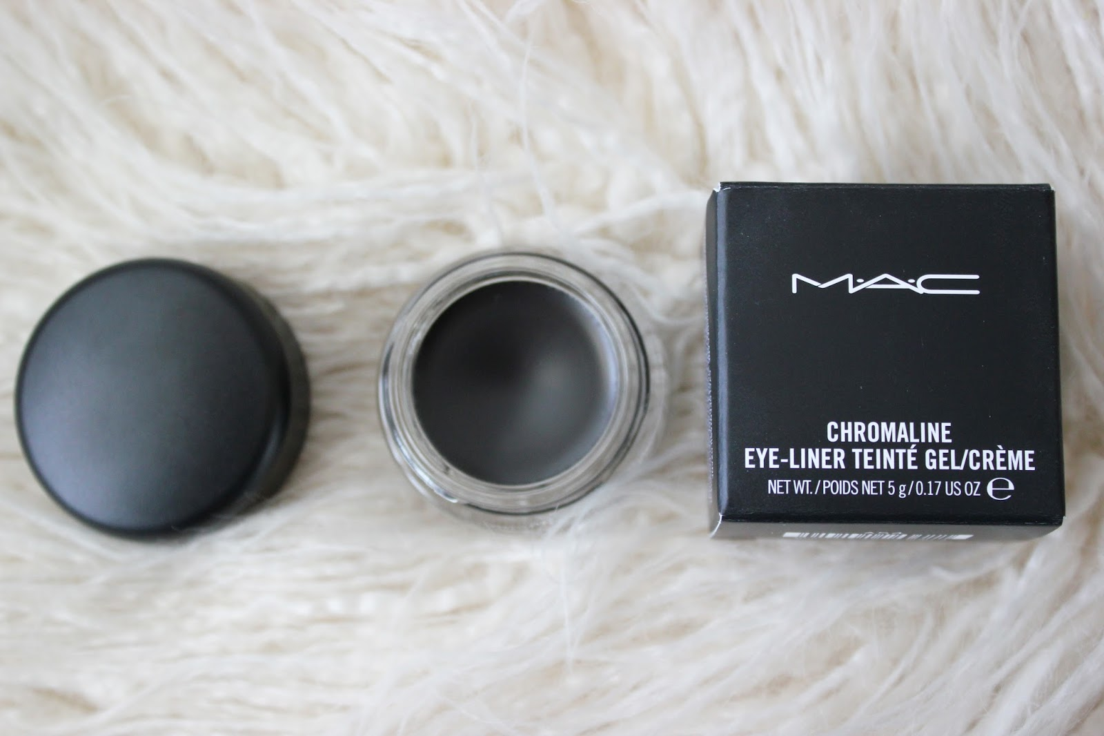 Mac Cosmetics Chromaline Black Black Eyeliner