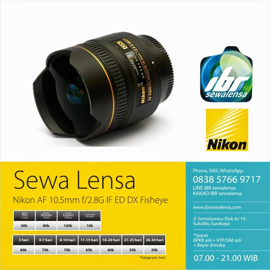 Nikon AF 10,5mm f2,8 G ED DX Fisheye