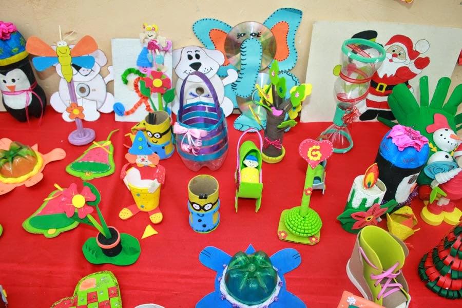 Manualidades de reciclaje diciembre 2014 for Manualidades para diciembre