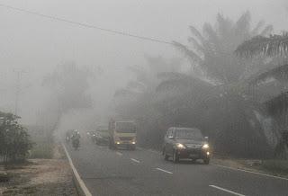 Penyebab Kabut pagi hari