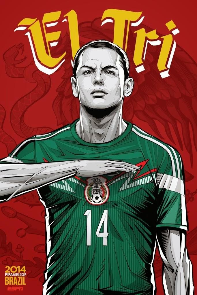 Mexico Team FIFA 2014