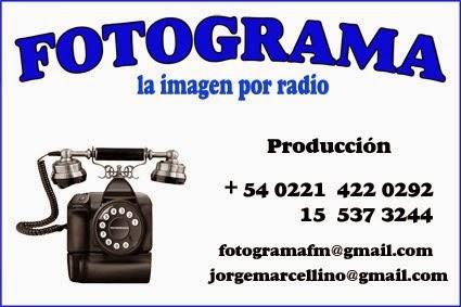 PRODUCCIÓN DE FOTOGRAMA la imagen por radio