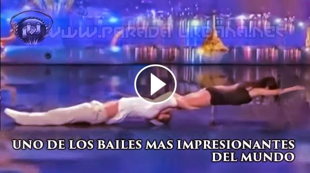 VIDEO IMPRESIONANTE - Unos de los bailes mas impresionantes del Mundo