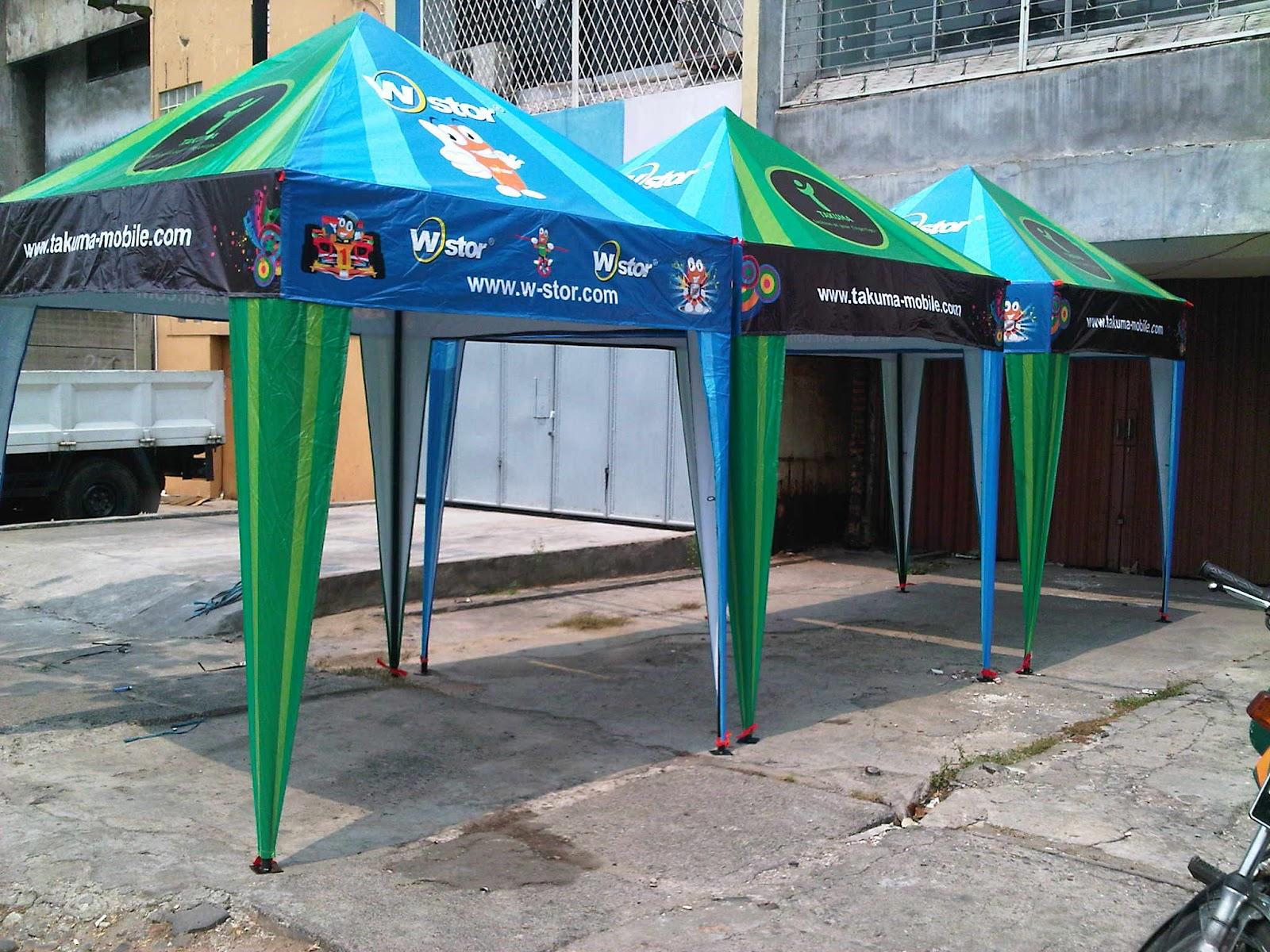 tenda piramid untuk Promosi