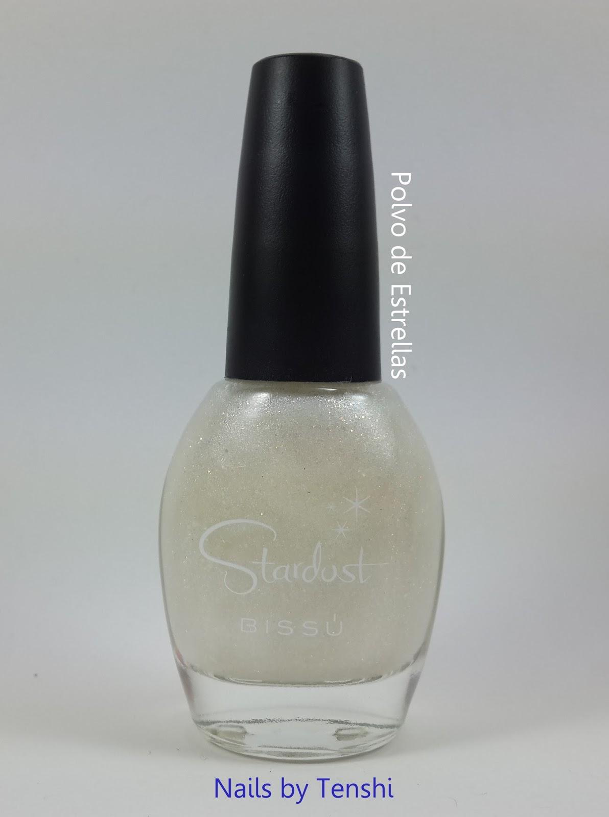 Nails by Tenshi: Gotas de seda y polvo de estrellas