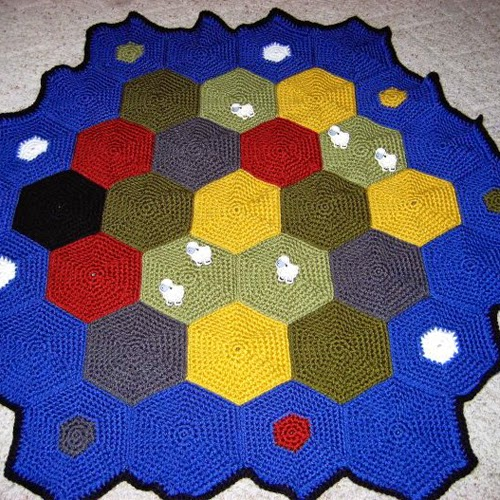 Settlers of Catan Afghan