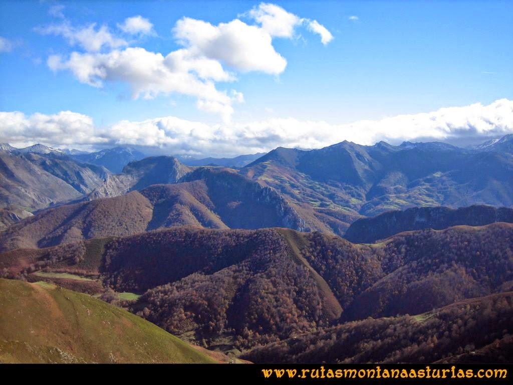Ruta Cuyargayos: Nubes en las montañas cantábricas