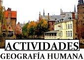 Geografía Humana. Actividades.