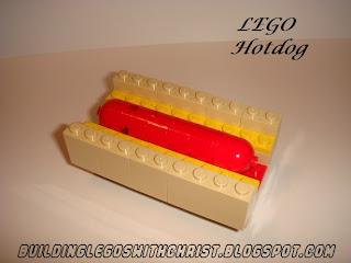 LEGO Food, LEGO Hotdog