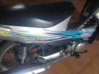 Motor Suzuki Shogun 125