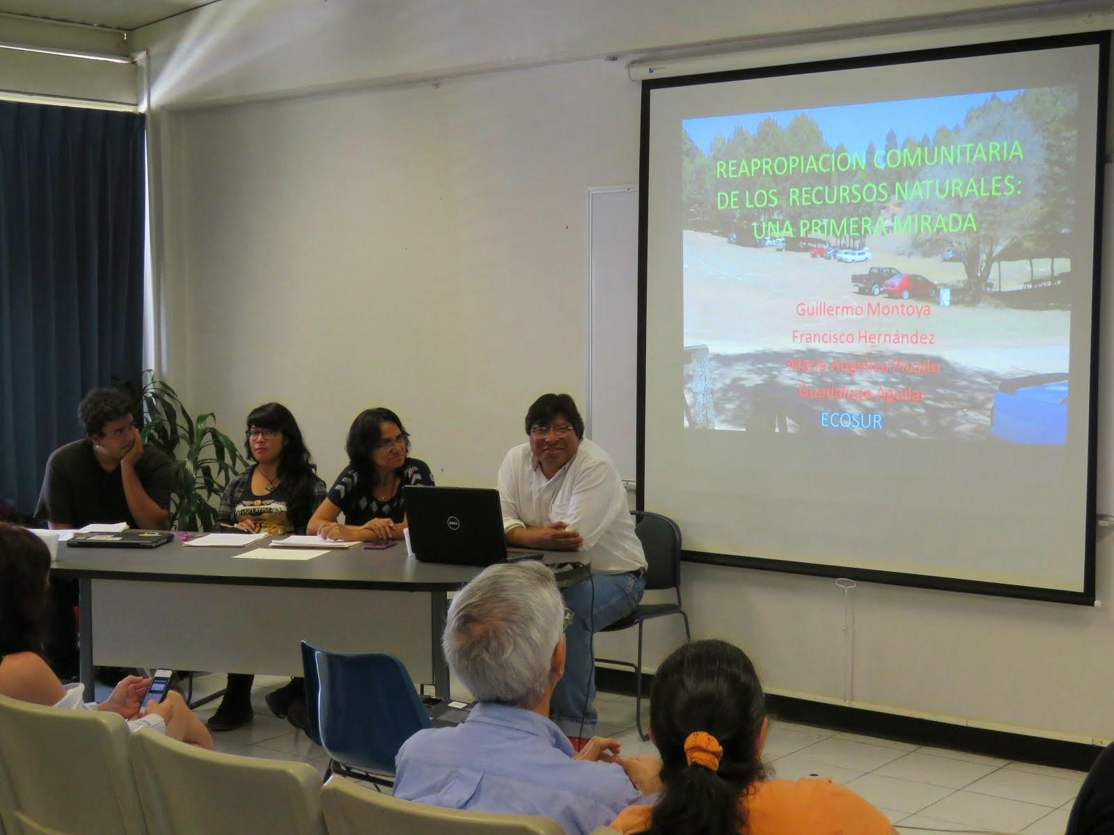 Mesa: Economía ecológica - Ecología política