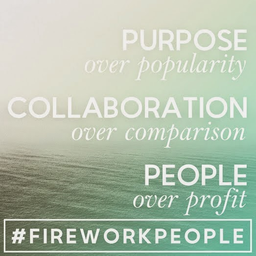 Member of #FIREWORKPEOPLE