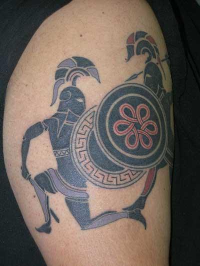 Best Tattoos For Men: Greek Tattoo Designs