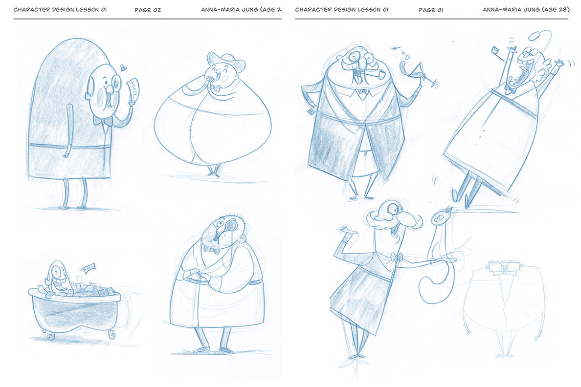 Character Design With Stephen Silver : My pocket universe character design with stephen silver