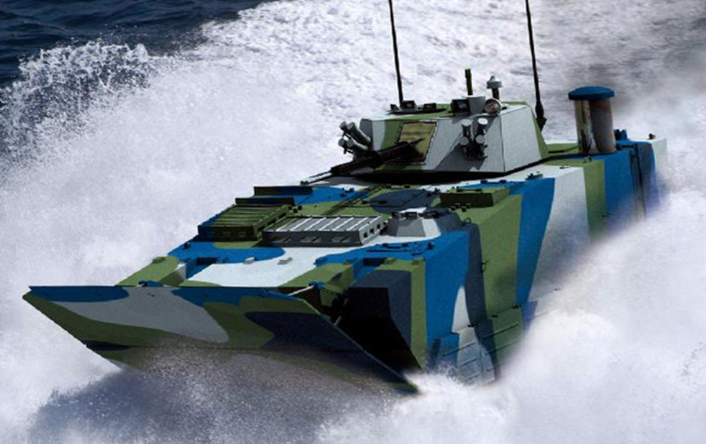Vídeo: Veículo blindado de assalto anfíbio chinês  ZBD 05