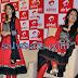 Laxmi Rai in Designer Orange Full Sleeves Salwar Kameez
