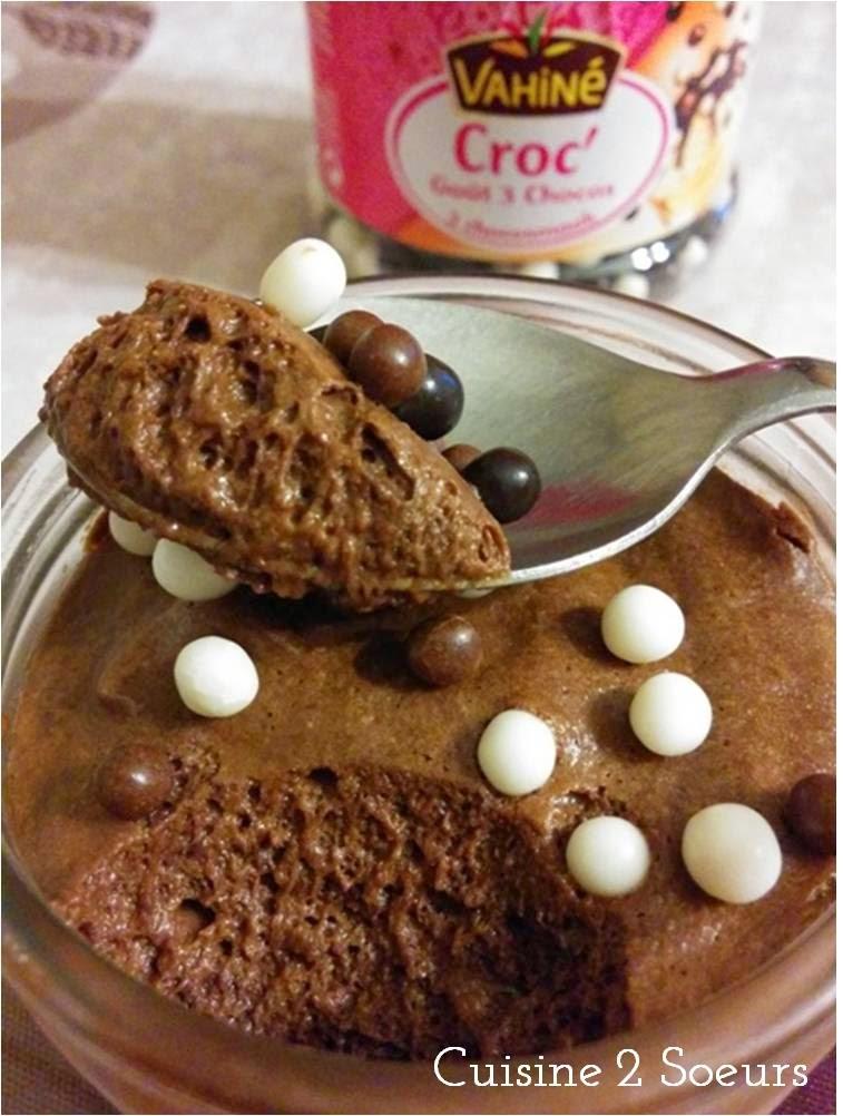 mousse au chocolat pierre hermé