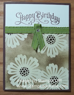 Mixed Bunch Stamp Set using Masking and Emboss Resist Techniques