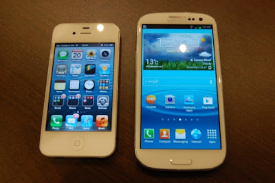 Samsung Galaxy S3 vs. iPhone 4S review