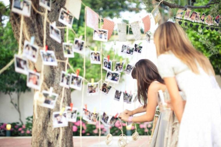 Tenderete de fotos para boda