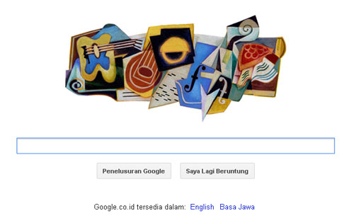Juan Gris 125 th Birthday Google Doodle
