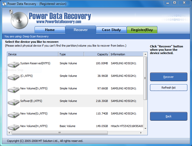 latest data recovery software full version free