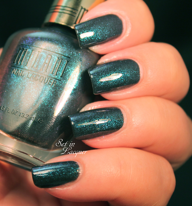 Milani Bella Blue Nail Polish