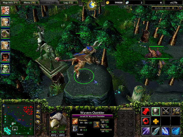 dota 6 77b hidden heroes leaked dota utilities 065 cheat dota 1