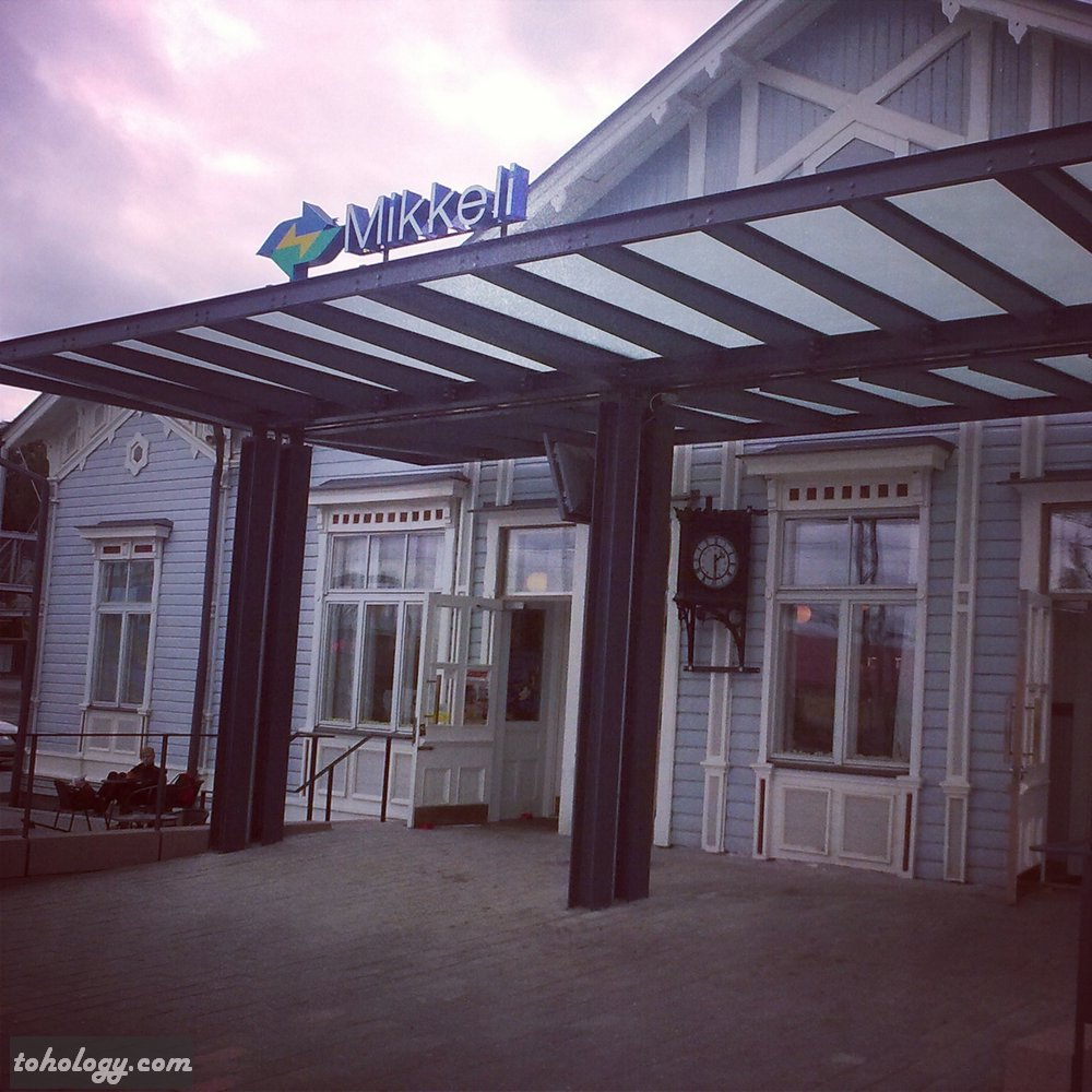 Mikkeli Railroad station