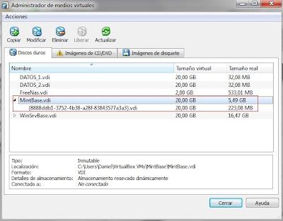 resultado disco diferenciacion virtualbox