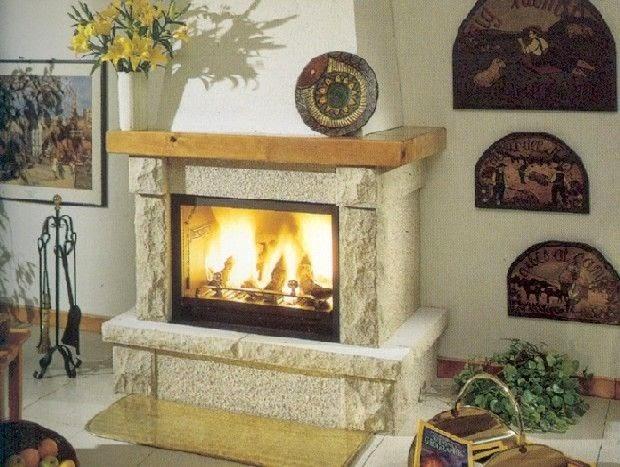 Fotos y dise os de chimeneas chimeneas de piedra - Revestimientos de chimeneas rusticas ...