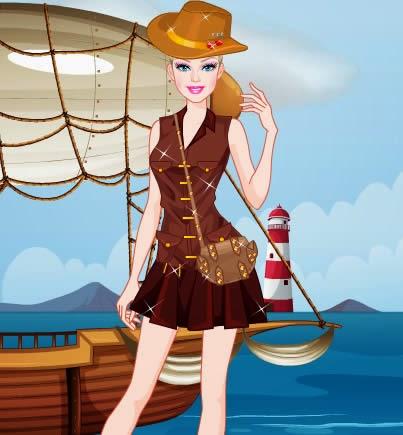 Barbie Hazine Avcısı Oyunu Oyna