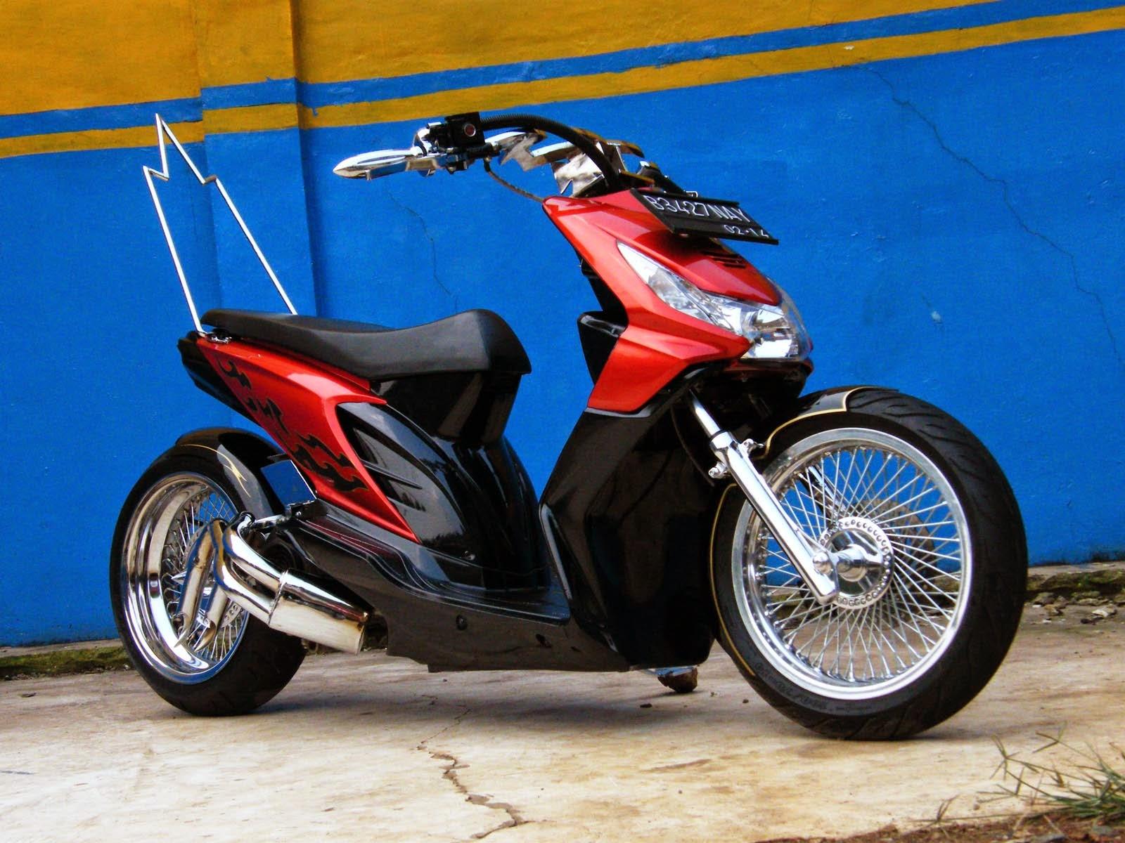Foto Modifikasi Honda Beat Terpopuler