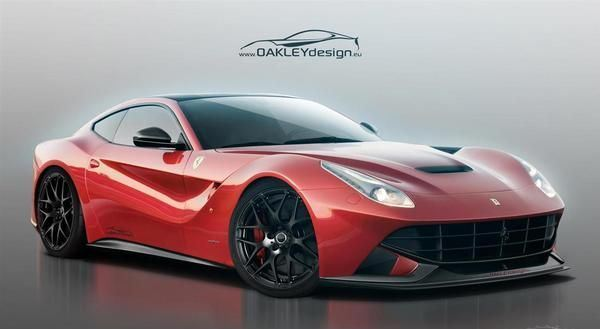 2013 Ferrari F12berlinetta by Oakley Design gassguzzler