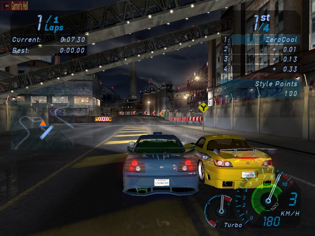 Need For Speed: Underground No-CD Patches Game Fixes