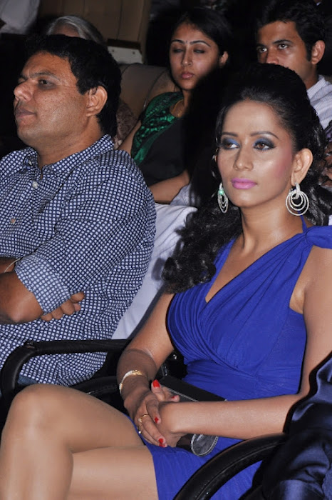 sanjana singh gets spicy legs at screen moon award 2012 actress pics
