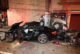 Porsche Crash São Paulo