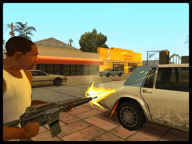 GTA SA - Mod Armas No Porta Malas V2.0