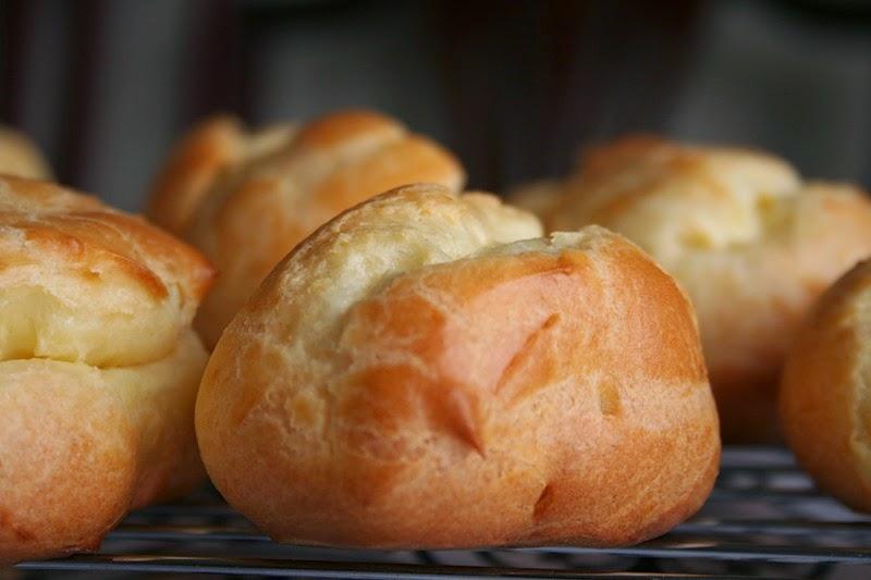 Французские булочки рецепт с фото с заварным
