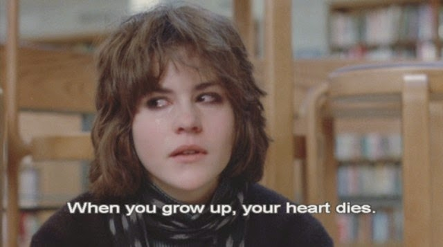 ally sheedy, breakfast club, dark, outcast