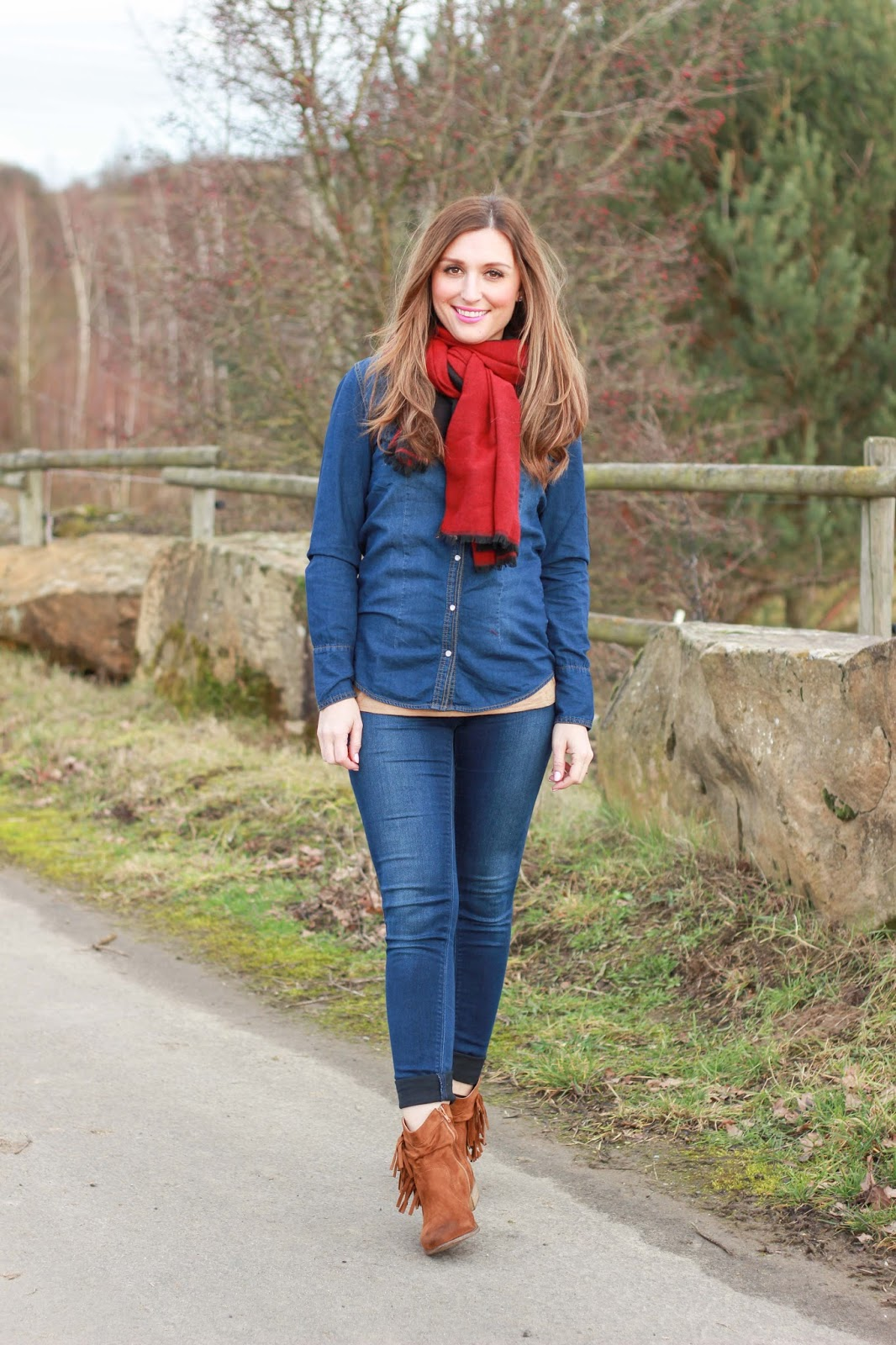 Fashionblogger aus Deutschland - Frankfurt Fashionblogger - DEnim Style - Booties - Braune Booties - Country Style - Country Look - Outfitinspiration Fashionblogger - Frankfurt Fashionblogger - Fasshionblogger aus Frankfurt