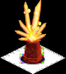 pontenciador para el elemento fuego